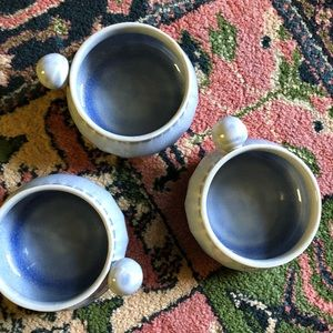 Anthropologie set of 3 bowls